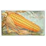 Leisure Life Celebrate Thanksgiving Greeting Corn Decorative Festival Home Outdoor Garden Decor Flag Banner 3 X 5 Ft
