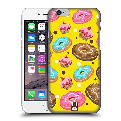 Head Case Designs Doughnut Delizie Cover Retro Rigida per Apple iPhone 6 / 6s