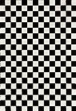 Cheap 1909 Checkered Black and White 5 x 7 Area Rug Carpet