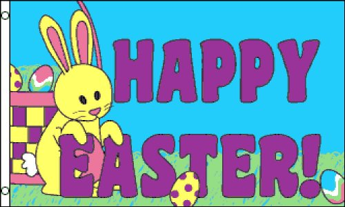 Happy Easter 3x5 ft polyester Flag