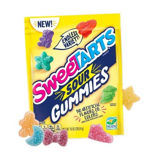 SweeTARTS Gummy Sour, 5.25 Ounce (Pack of 12)
