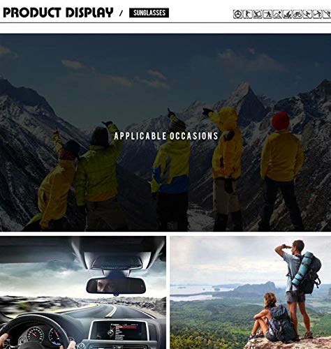 Estados Caja Libre Europa Hombres Al Deportes De 1 Unidos Gafas Polarizado Y Aire Espejo Sol Los No A7WX6EqHv