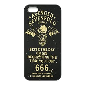 iPhone 4 4s Cell Phone Case Black_Avenged Sevenfold_001 A9Q7E