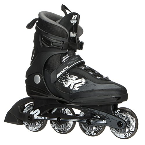 Used, K2 Skate Men's Kinetic 80 Pro Inline Skate, Black White, for sale  Delivered anywhere in USA