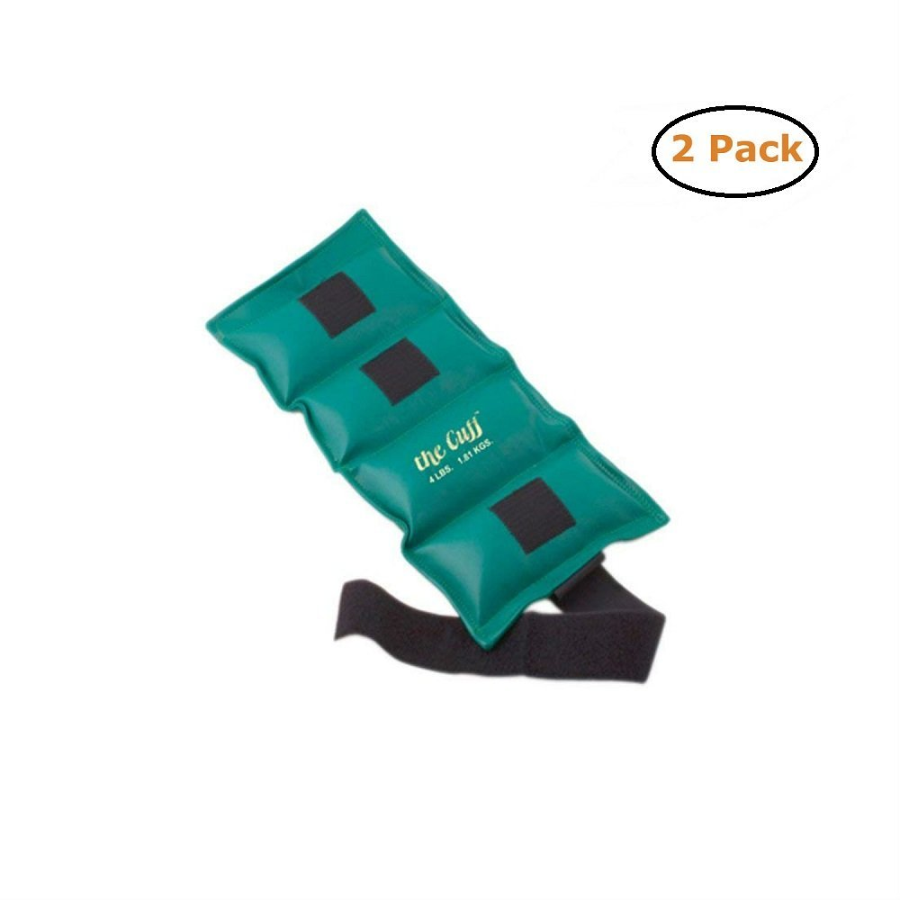 Fabrication The Cuff Original Ankle and Wrist Weight - 4 lb - Turquoise - Pack of 2