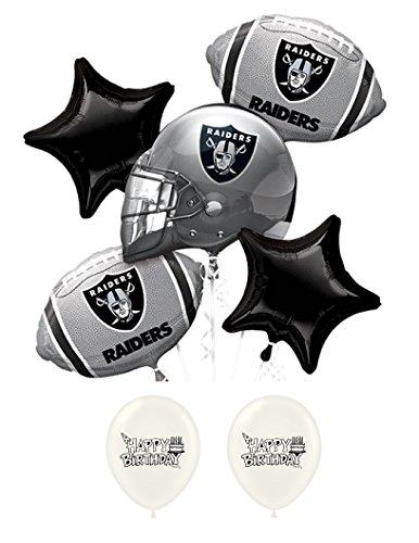 Ballooney's Oakland Raiders Birthday Party Balloon (Raiders Birthday)