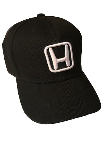 Amazon.com  Honda Baseball Cap Hat Black. 3D Emblem. Adjustable. New!   Everything Else 2175580f5ae