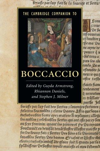 The Cambridge Companion to Boccaccio (Cambridge Companions to Literature)
