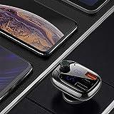 Baseus Wireless MP3 car Charger Dual USB FM
