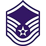 Air Force Master Sgt Insignia Edible Cake Topper