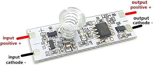UK Touch Light Lamp Dimmer Touch Module Sensor Switch DC 5-24V for LED Strip