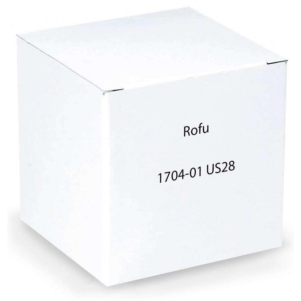 Rofu 1704-01 US28 Electric Strike, Aluminum, 8V AC/3V DC, 1-7/16'' x 7-15/16''