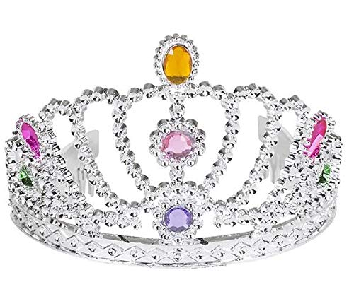 (Neliblu Rhinestone Tiara Crowns for Girls Let Your Child Feel Like The Princess of Her Dreams! (Bulk Pack 12 Crowns) Princess Party Supplies for Girls)