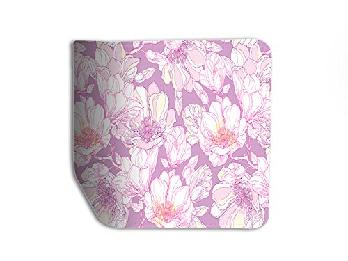 Magnolia Pattern Leather Passport Holder Protector Cover_SUPERTRAMPshop (Magnolia Pattern)