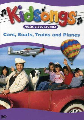 Kidsongs - Cars, Boats, Trains and Planes (Kidsongs Cars Boats Trains And Planes Cd)