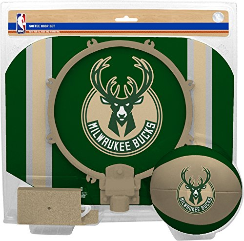 fan products of NBA Milwaukee Bucks Slam Dunk Softee Hoop Set