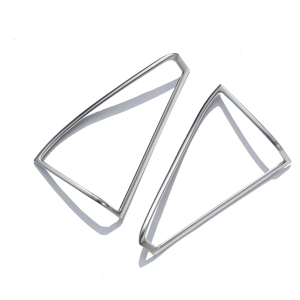 2/x altavoz de la puerta plata mate pl/ástico marco borde adhesivo para MB GLK X204/2009/ /2016/coche accesorios