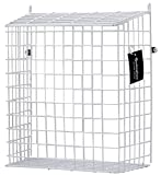 Buckingham 30051 Front Door Letter Cage, Guard, Basket, Mail Catcher, Post Box, Letter Box, Pre-Assembled, White