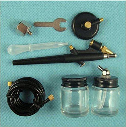 0.8mm Nozzle Air Brush Spray Painting Tool Kit - 5