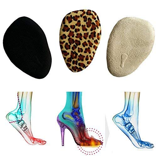Bringsine Ball of Foot Cushions - Plantar Fasciitis Pain Relief Kit Metatarsal Pads, Gel Helps Cushion, Support Hammer Claw Mallet Toes, Arch Pain, Neumeria Pads High Heels Relieve Forefoot Pain