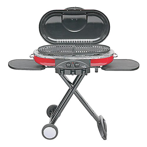 Coleman RoadTrip LXE 2-Burner Portable Propane Grill in Red