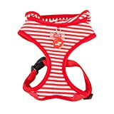 Puppia Authentic Beach Party Harness, Large, Red