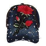 Perfumever Embroidery Baseball Cap Women Cap For Girl Hat Cap Summer Mesh Hat Sun Hat