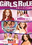 Girls Rule Pack (Mean Girls / Clueless / She s the Man) by Lindsay Lohan