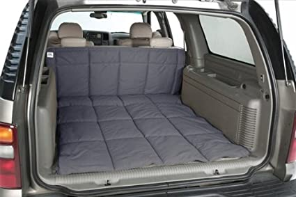 Canine Covers Custom Fit Cargo Area Liner for Select Porsche Cayenne Models - Polycotton (Grey