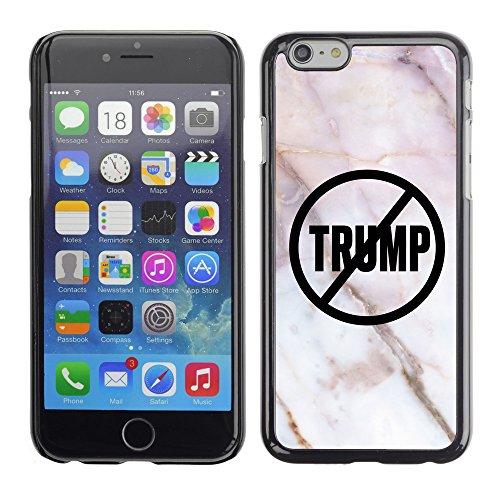 """Print Motif Coque de protection Case Cover // Q04110533 Jamais Trump marbre closeup // Apple iPhone 6 6S 6G 4.7"""""""