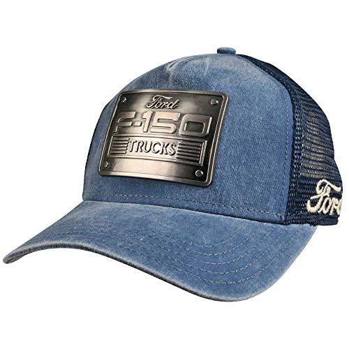American Needle Ford F-150 Metal Head Mesh Back Adjustable Snapback Trucker Hat - Cap Ford