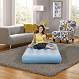 Simmons BeautySleep Smart Aire Inflatable Air Mattress: Low-Profile Air Bed with External Pump, Twin
