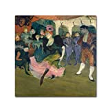 This ready to hang, gallery-wrapped art piece features a woman dancing in a crowd of people. Henri de Toulouse-Lautrec (24 November, 1864 - 9 September, 1901) was a French painter, and among the most well-known of the post-impressionist period, along...