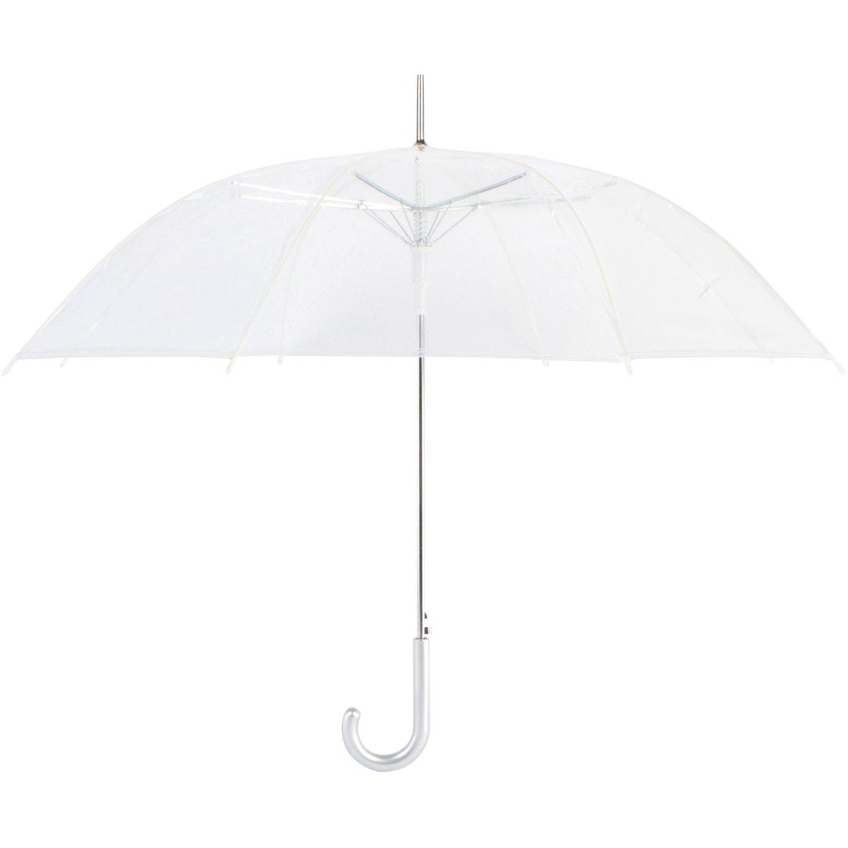 Cloak 10pk Auto Open Classic Clear Umbrellas by Cloak Umbrellas