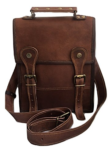 Leather Messenger bag for Men & Women, Crossbody Bag, Satchel, Shoulder Bag by vintage crafts