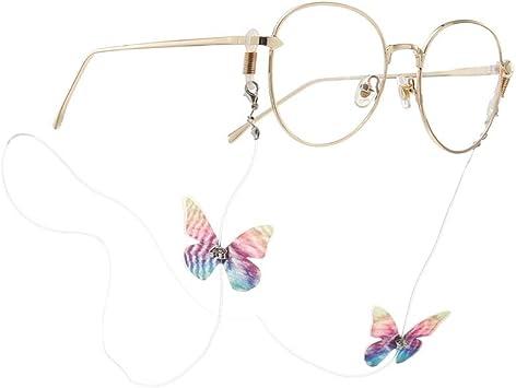 JAWSEU Brillen Ketten Mode Bunte Perlen Gl/äser Brillen Halter Kette Brillenband//Brillenkette//Brillen Cord//Sonnenbrille Kette Hals Lanyard//Brillenhalter Hals Cord Strap