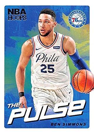 100% authentic 24363 1e881 Amazon.com: 2018-19 NBA Hoops The Pulse #9 Ben Simmons ...