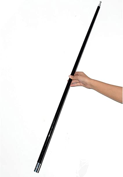 WSNMING 43-1//4 Metal Appearing Cane Magic Wand for Professional Magician Stage Close-up Magic Trick Magic Accessories