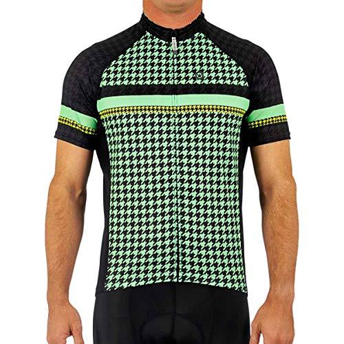 Canari Cyclewear Men's Aero Jersey, Magic Mint, Medium