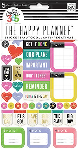 BIG ideas Everyday Reminders Stickers