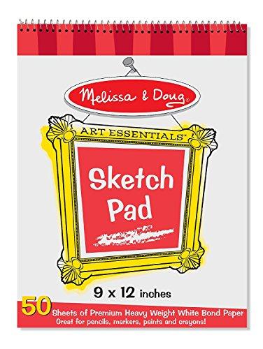 Melissa & Doug 9″x12″ Sketch Pad