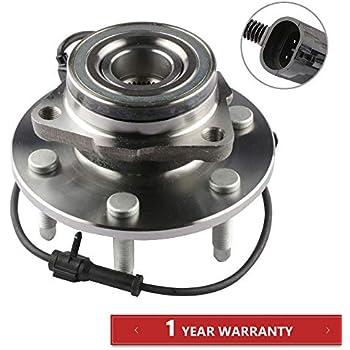 Amazon.com: 515036 Front Wheel Bearing and Hub Assembly 6 ...