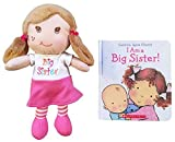 I Am a Big Sister Doll and Book Bundle