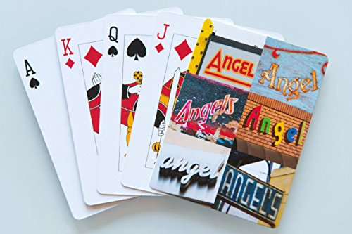 ANGEL Personalized Playing Cards - featuring photos of actual signs