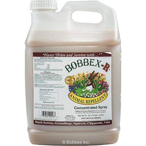 Bobbex-R Animal Repellent 2.5 Gallon Concentrated Spray by Bobbex