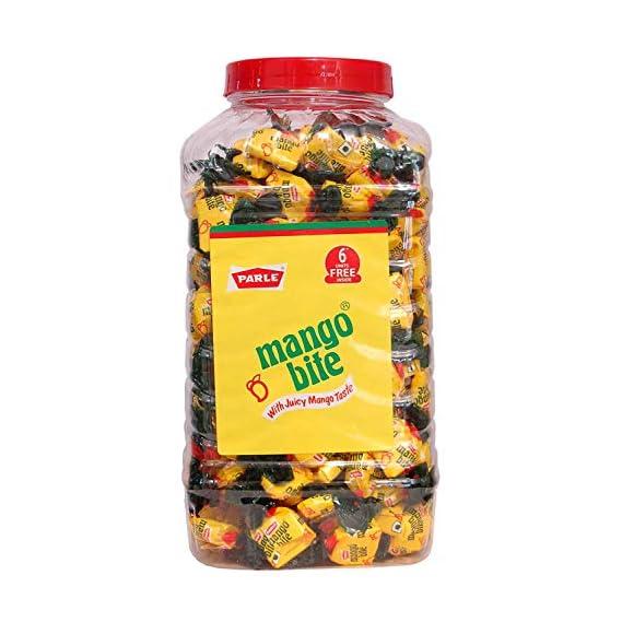 DE Parle Mango Bite with Juicy Mango Taste 150+ Prime Toffee