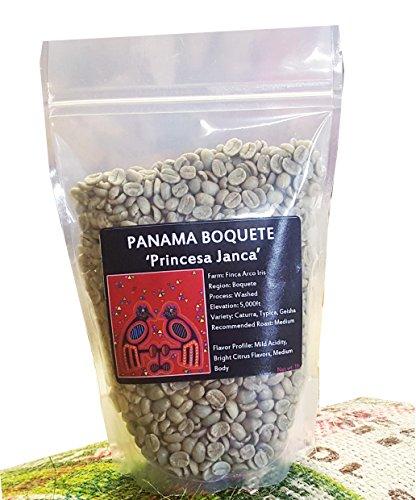 Panama Boquete, Green Unroasted Coffee Beans, Finca Arco Iris (1lb)