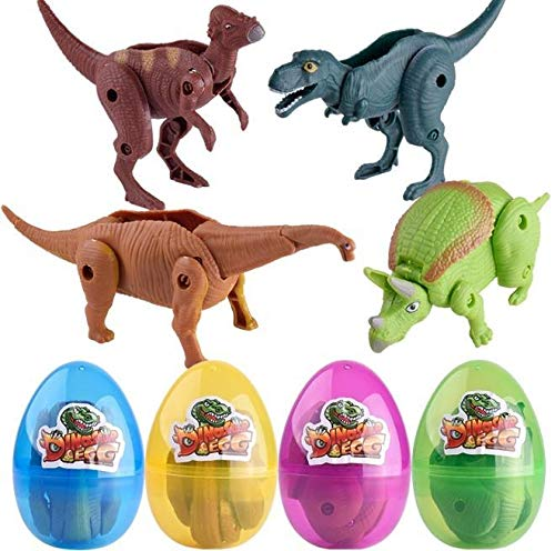 melysUS 1Pc Children Cartoon Model Egg Toy Kids Dinosaur Egg Toy Miniatures