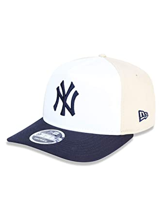 8467e218154dc BONE GOLFER NEW YORK YANKEES MLB ABA CURVA SNAPBACK BRANCO KAKI NEW ...