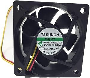 SUNON HA60251V4-1000U-G99 DC 12V 0.36W, Brushless Fan, Cooling Fans, Genuine Original Equipment Manufacturer (OEM) Parts (HA60251)